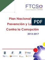 Plan Nacional de Lucha Contra La Corrupción