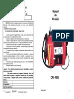 Manual CAS-1000 Rev D