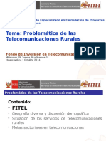 Problemática Telecomunicaciones Rurales Huancavelica Oct 2014