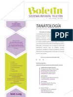 Boletin Sit 2016 TANATOLOGÍA