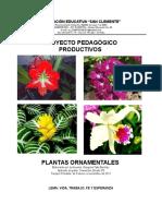 Proyecto Pedagogico Gregorio Plantas Ornamentales