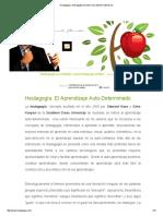 Heutagogía y Andragogía _ Ernesto Yturralde Worldwide Inc