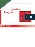 the kindergarten program 2016