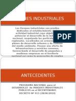 Parques Industriales / Plan de Desarrollo Urbano