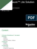 #1. SmartStruxure Lite Training - Introduction Ver 1.1.0_0