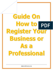 PH Guide on How to Register Your Business or as a Professional