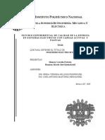 Calidad de La Energia en Sistemas Electricos activos-pasivos