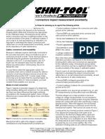 Fluke - How Cables and Connectors Impact Measurement Uncertainty