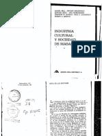 Adorno et al, Industria Cultural.pdf