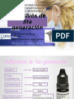 Adhesivos de 5ta Generación