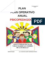 Plan Salud Mental Poa 2015]