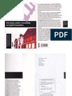 Livro - Educação Poder e Sociedade No Império Brasileiro