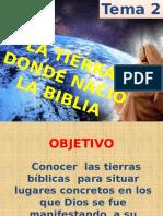 la tierra donde nació la biblia