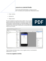 Crear Un Nuevo Proyecto en Android Studio