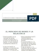 Los Mercados de Bienes y Financieros - Macroeconomia