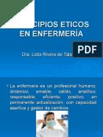 Principios Eticos en Enfermeria