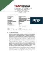 SIlabo de Protesis Completa UAP 2016 II