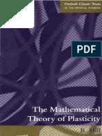 elastic-plastic deformation theory