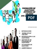 Auditorías Internas Al SGC