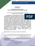 Doctrina 1 - Manejo de Historia Clinica (1)
