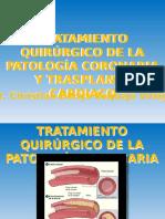 Tratamiento Quirúrgico Patología Coronaria y Trasplante Cardiaco