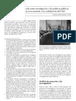 El difícil vínculo entre invesigación y las políticas públicas en el Perú