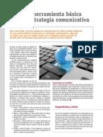 Web 2.0, herramienta básica para la estrategia comunicativa