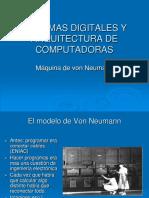 Sistemas Digitales y Arquitectura de Computadoras