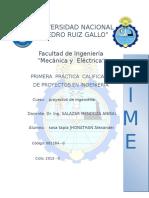 Practica de Ingenieria de Proyectos - FIME