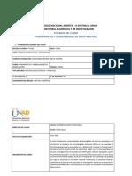 Syllabus Curso Fundamentos y Generalidades de Investigacion