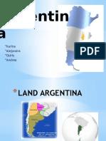 Presentación sobre Argentina