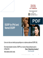 Eigrp for Ipv6 and Named Eigrp Ccnp 300-101 by Rsg