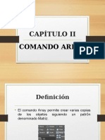 Comando Array - AutoCAD