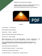 Egyptian Pyramid Manual