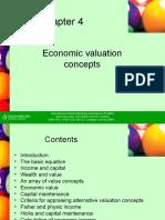 Ch 4 Economic Valuation Concepts