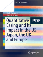QE and Its Impact in the US, Japan, The UK and Europe