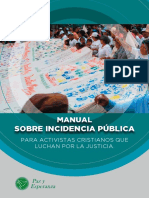 Manual Sobre Incidencia Publica