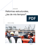 h. Campodonico - Reformas Estructurales