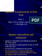 Japanses Expansion