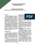 Shipbuilding Robotics and Economics
