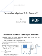 3-Flexural Analysis of R.C. Beams (2)-Students(1)