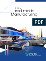 Syspro Mixed Mode Manufacturing Web