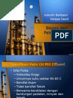 Spesifikasi Produk Biogas Dari POME