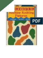 Livro Colorful Machine Knitting Patterns