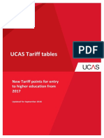 New Tariff Tables Aug 2016 Applicants