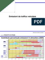Lezione Sulle Emissioni Da Traffico Veicolare
