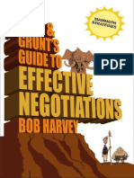 Bob Harvey-Tork & Grunt's Guide to Effective Negotiations-Marshall Cavendish Limited (2008)