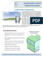 Atmospheric Water Generator NEW