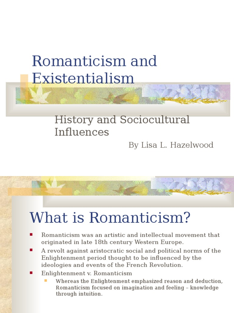 history of existentialism