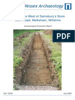 Land to the West of Sainsbury's Store, Bath Road, Melksham, Wiltshire